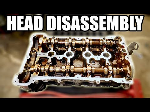 How to Completely Disassemble a Cylinder Head