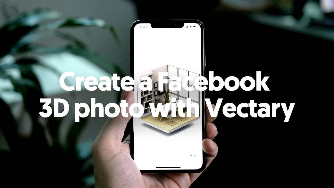 How to create Facebook 3D photos and export Depth map with Vectary Depth Map on