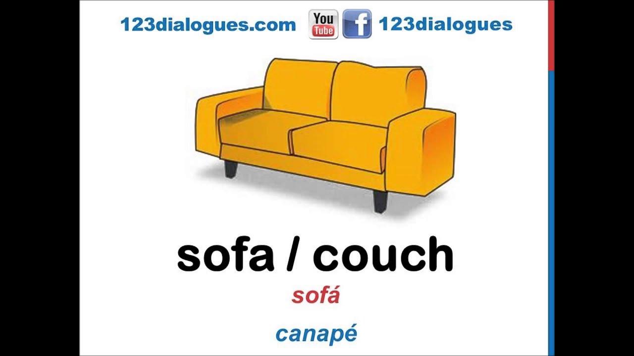 Curso de ingl s 45 muebles en la sala comedor en ingl s for Living room y sus partes