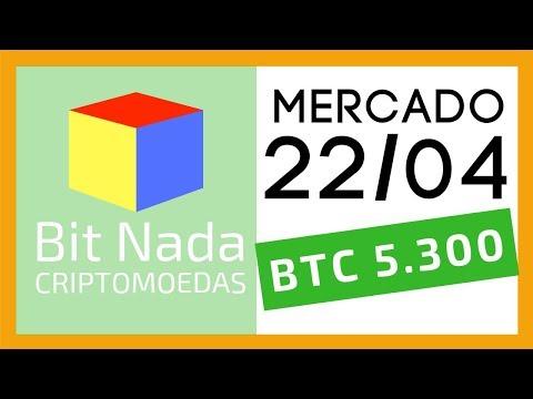 Mercado de Cripto! 22/04 Bitcoin 5.300 USD / BNB topo histórico! / Crypto Rocket