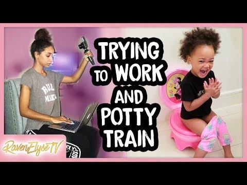 MY DAILY ROUTINE | Super Busy Day + Potty Training Ziya! | MOM VLOG