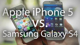 Samsung Galaxy S4 vs. iPhone 5: Сравнительный Обзор Двух Флагманов