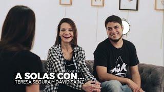 A solas con... Teresa Segura y David Sainz - VI FESTIVAL DE CINE Y TV CINEJOVEN [2016]