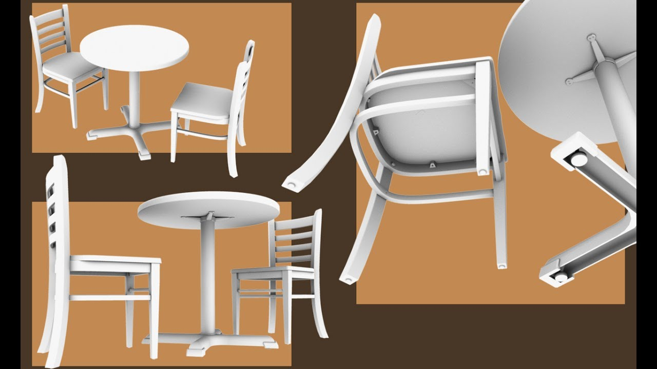 Coffee Shop Chairs and Tables Furniture Designs  YouTube