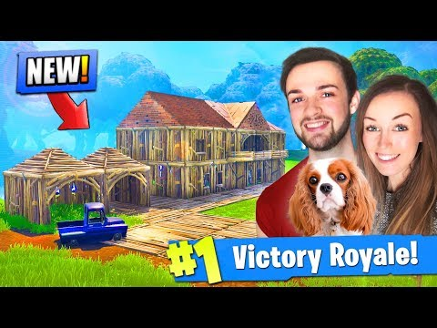 Building Ali-A's *NEW* HOUSE in Fortnite: Battle Royale!