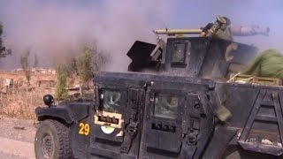 Mosul: Most intense day of fighting since offensive began