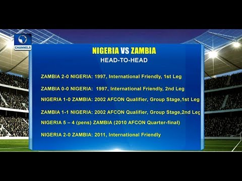 Nigeria Vs Zambia WCQ: Reviewing Head To Head Records |Sports Tonight|