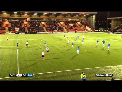 Scottish League 1 - Airdrieonions Vs Rangers - 2014/02/01 - First Half FULL