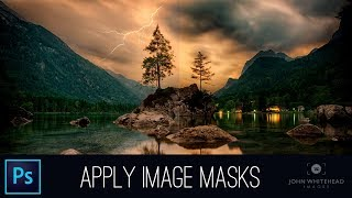 Detailed Masks with APPLY IMAGE in Adobe Photoshop CC