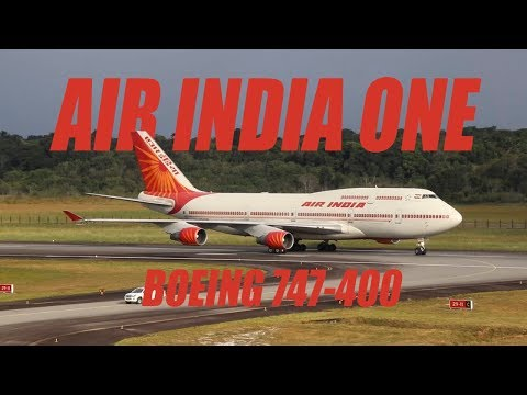 Air India One  J.A. Pengel Airport VT-EVB Boeing 747-400