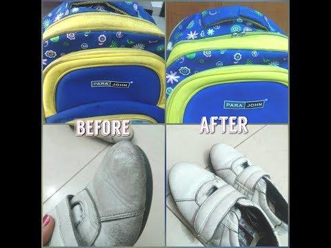 പൊടിക്കൈ | Tips for cleaning School bag and white shoes