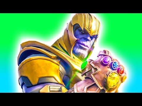 1v1 Against Thanos Fortnite Battle Royale Infinity