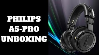 philips a5 pro unboxing