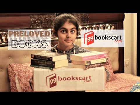 99bookscart.com Mystery Box Unboxing and Review – Buy Preloved Books Online in India