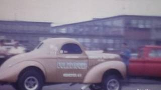 1966, 1967 Mercury Cyclone Funny Cars , Ron Leslie, Dyno Don, Eddie Schartman ,John Petrie.