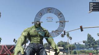 Hướng dẫn cài đặt mod Hulk GTA 5 (100% thành công)