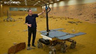 ESA Euronews: Az ExoMars-szal az életet a Marson keresi