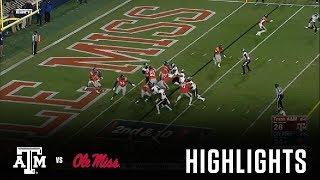 Football Highlights | Texas A&M vs. Ole Miss thumbnail