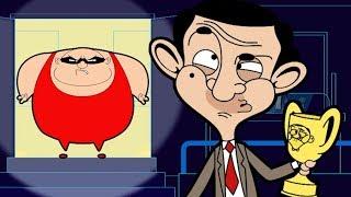 Fitness Bean Mr Bean Cartoon  Mr Bean Full Episodes  Mr Bean Official