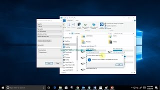 How To Fix Windows was unable to complete the format