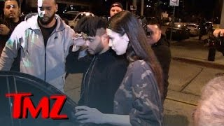 The Weeknd, Bella Hadid -- Screw this Restaurant ... That Table, Seriously?