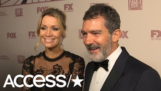 Emmys 2018: Antonio Banderas Playfully Shoots Down Request To Propose On-Camera! | Access