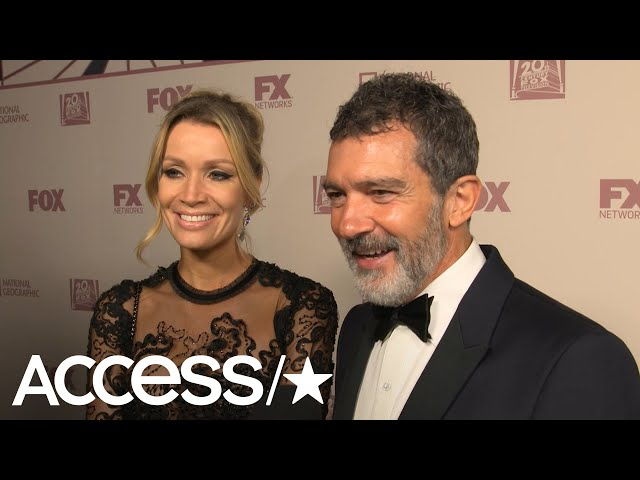 Emmys 2018\: Antonio Banderas Playfully Shoots Down Request To Propose On-Camera! | Access
