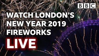 London's New Year's Fireworks 2019 LIVE