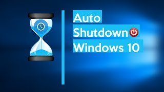 How to Schedule Auto Shutdown in Windows 10 (really easy)
