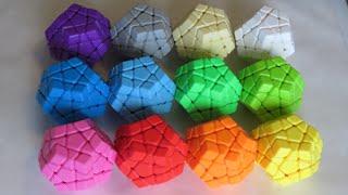 YJ YuHu Megaminx Force Cubes Timelapse