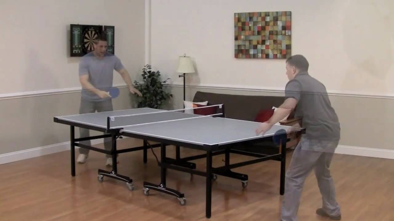 Shadow Carbon Table Tennis Table - YouTube