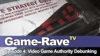 Game Rave TV Ep. 4 - Video Game Authority Debunking
