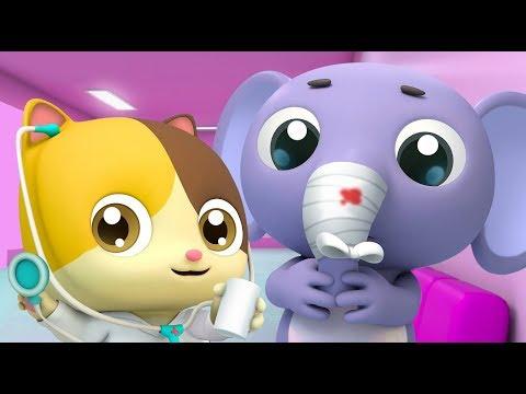 아기고양이 의사놀이|생활습관|양치놀이|안전교육|어린이 애니메이션|베이비버스 동요동화|BabyBus