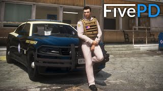 GTA 5 FivePD #10 - KITT & K-9! (Zach's Run)