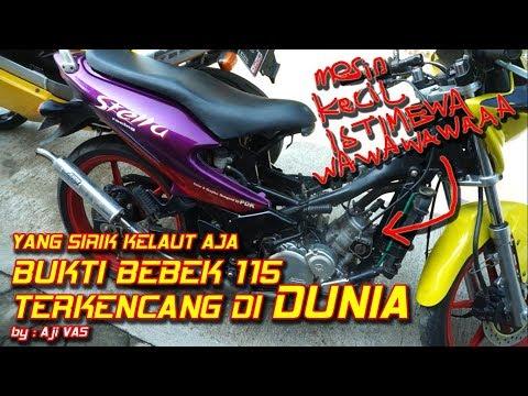 Top Speed Cagiva Stella - AYAM JAGO 115cc HOAX TERKENCANG DIDUNIA || Aji VAS
