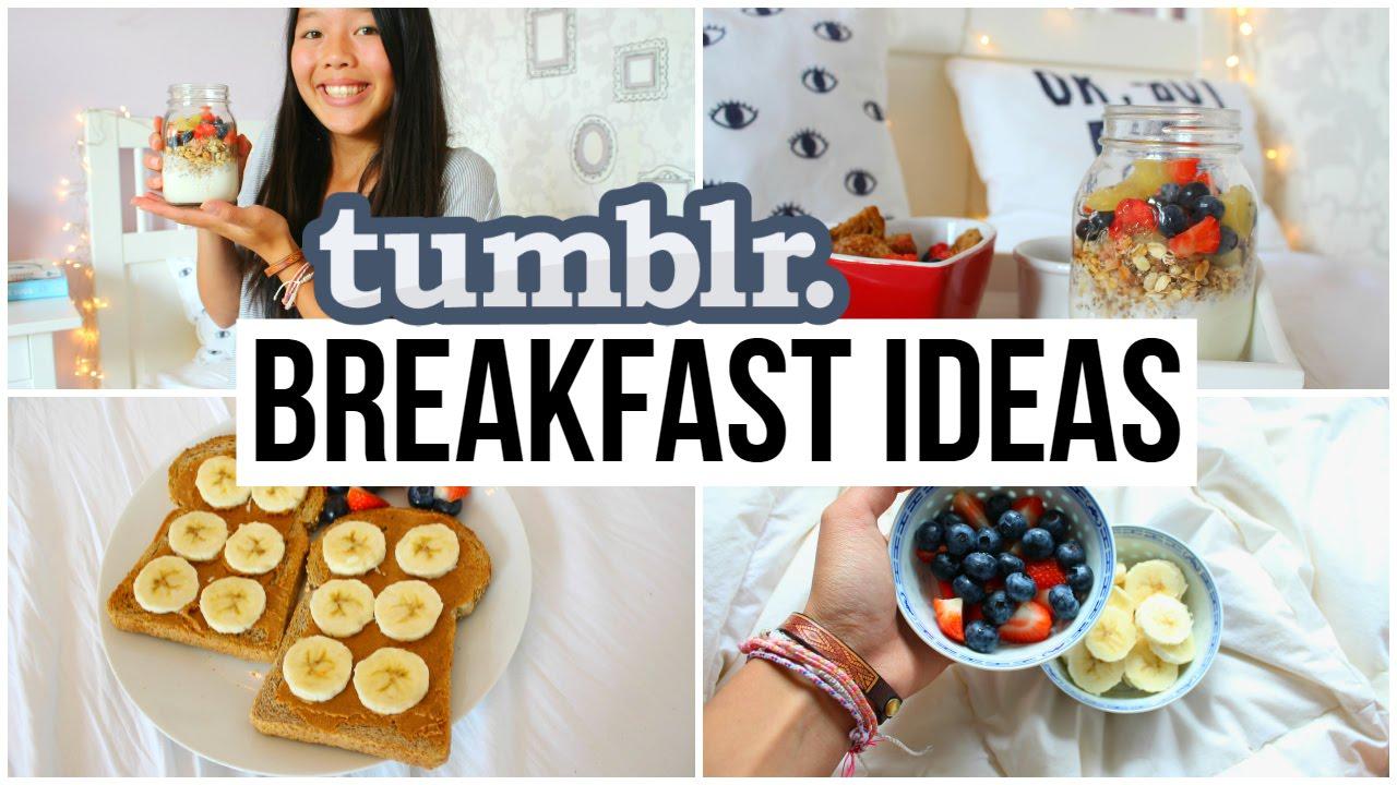 DIY Tumblr Breakfast Ideas