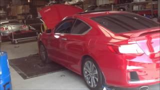 9th Gen Honda Accord Coupe EX-L V6 w/Nav 6 Speed Manual Transmission Dyno Test