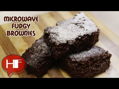 Easy Desserts || Microwave Recipes : Fudgy Brownies