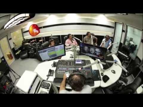 Inauguração dos novos estúdios da 96FM no Buriti Shopping