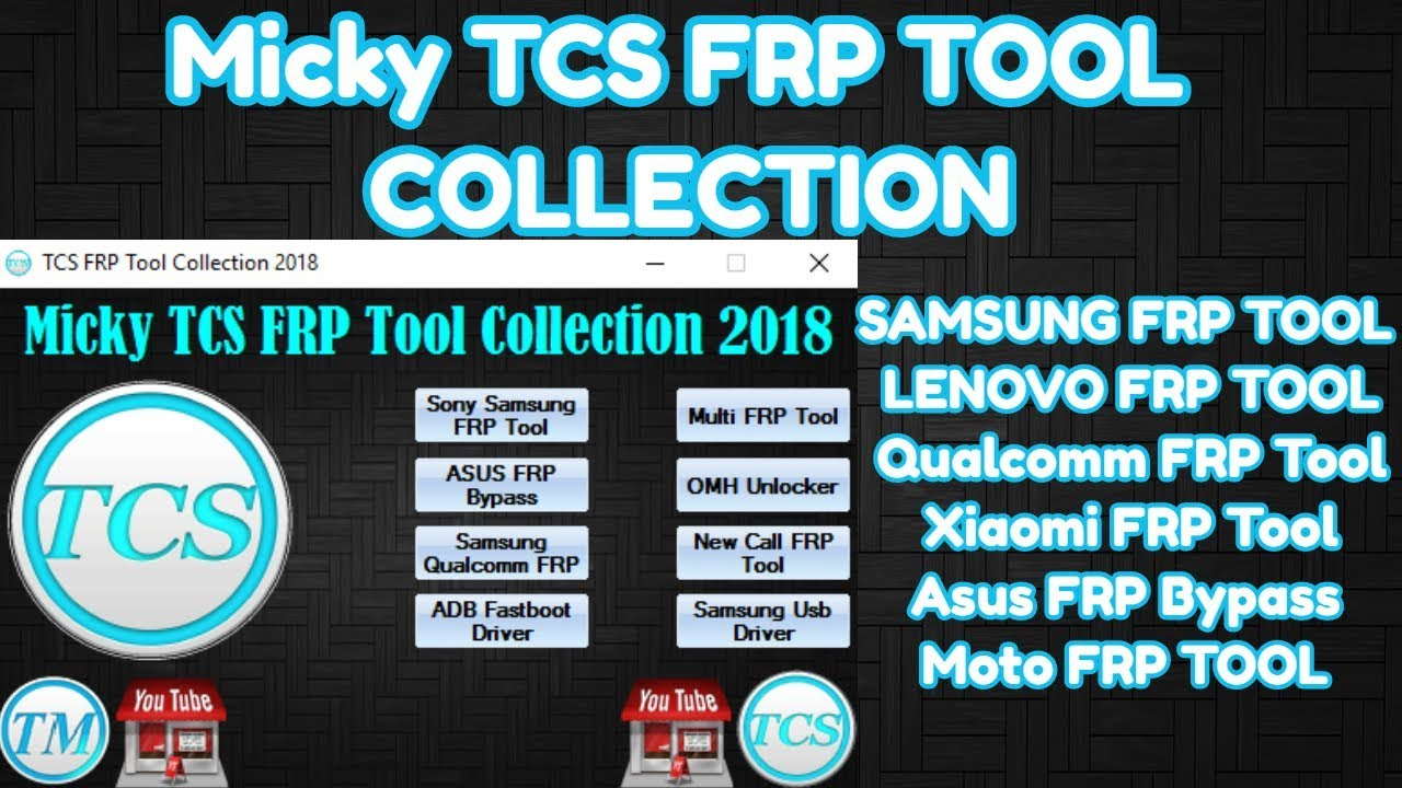 Micky TCS FRP Tool 2018 Free Download - Technical Computer Solutions