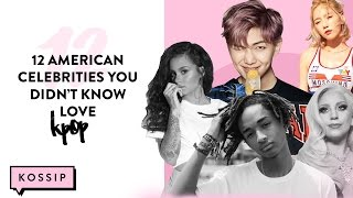 12 American Celebrities You Never Knew Liked K-Pop | The Kossip List