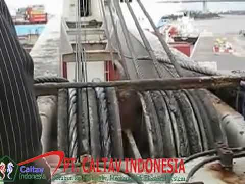 Ship crane parts, marine cranes engineers Batam by caltav com   YouTube