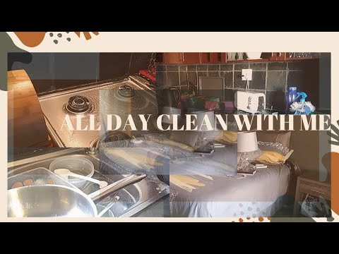 *NEW* ALL DAY CLEAN WITH ME // SATISFYING CLEANING MOTIVATION // SOUTH AFRICAN YOUTUBER // CKAY