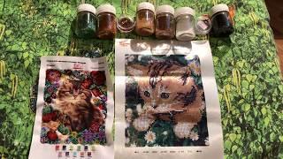Вышивка бисером: мамины работы, любимые котята)))
