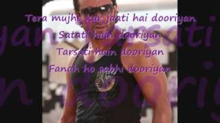 Love aaj kal - yeh dooriyan with lyrics