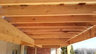 Four Level Cedar Pergola (14' X 42')
