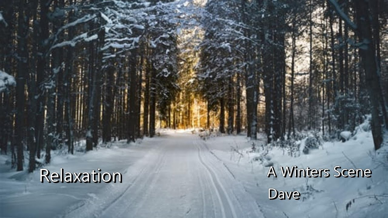 Relaxation - A Winter Scene