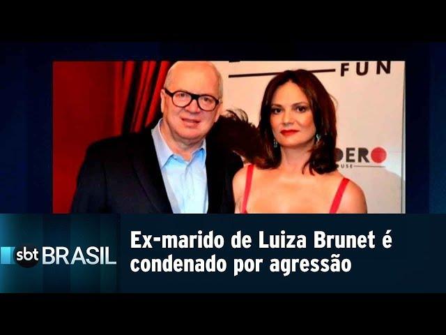 Lírio Parisotto é condenado por agredir Luiza Brunet | SBT Brasil (15/02/19)