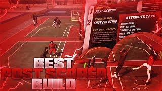 HOW TO CREATE THE BEST POST SCORING BUILD ON NBA 2K19! BEST ANIMATIONS FOR POST SCORERS!