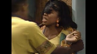 A Different World: 5x22 - Gina's boyfriend Dion abuses her